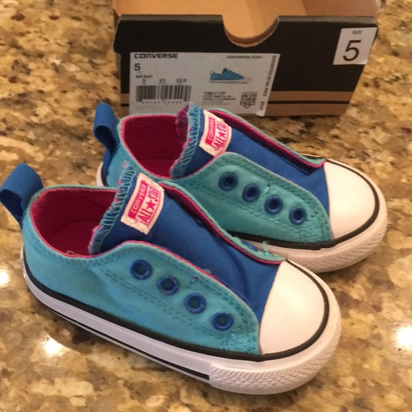 aef9e8cf0ac Converse Other - Converse slip on infant  toddler size 5